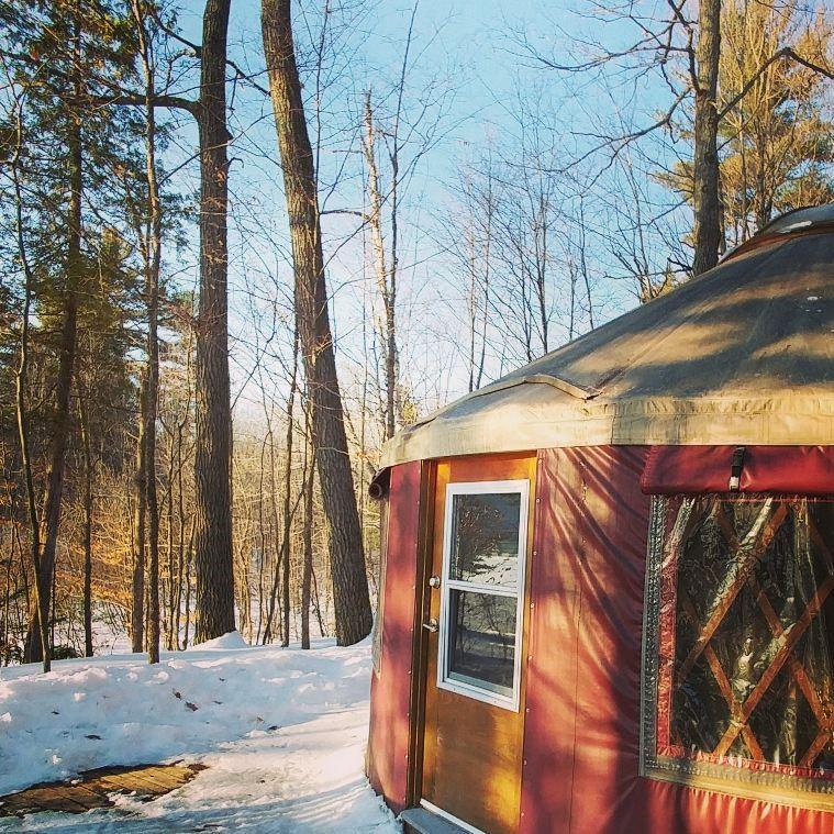 Yurt Camping for Beginners in Gatineau Park- Yurting ...